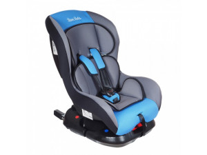 BamBola Bambino Isofix - детское автокресло 0-18 кг серо-голубой