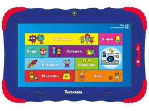 "Планшет детский TurboKids S5 Cortex 16Gb 7"" синий"