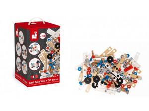 Janod Конструктор Brico'Kids в коробке: 100 элементов