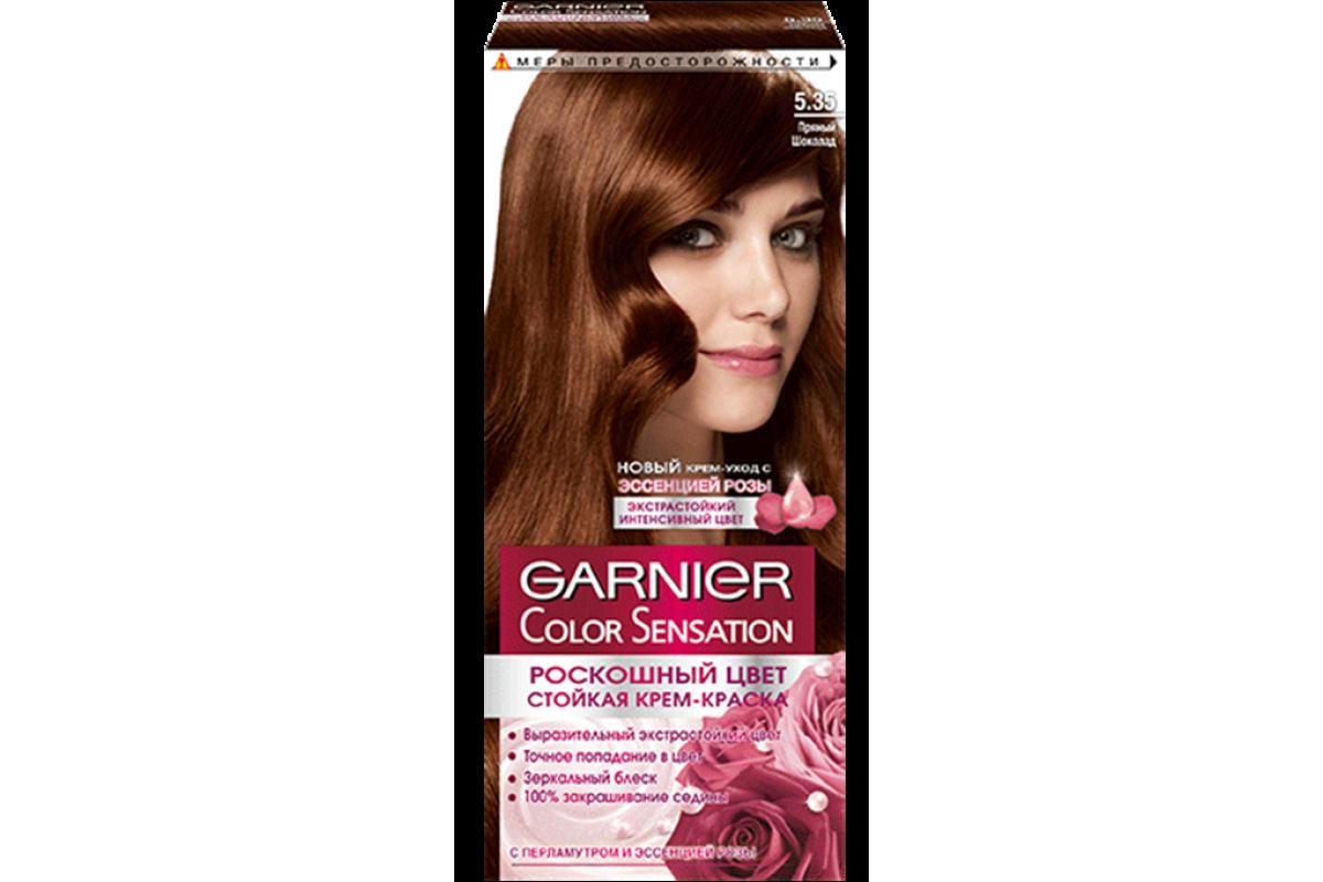 Garnier Краска для волос Color Sensation 5.35 Пряный шоколад