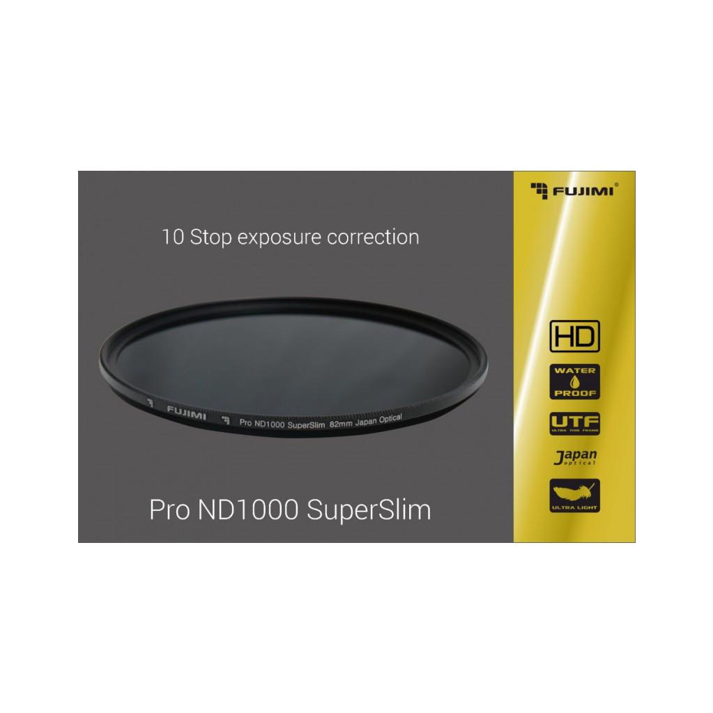 Нейтрально-серый фильтр Fujimi ND1000 Pro SuperSlim 49mm