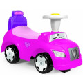 Dolu Каталка 2в1 Степ, без ручки управления, с рулем, розовый