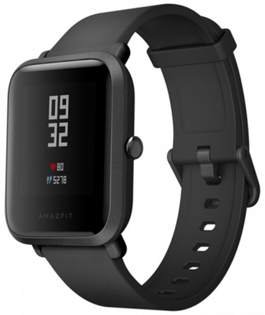 Умные часы Xiaomi Huami Amazfit Bip, черные
