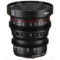 Объектив Meike 25mm T2.2 Cinema Lens MFT mount
