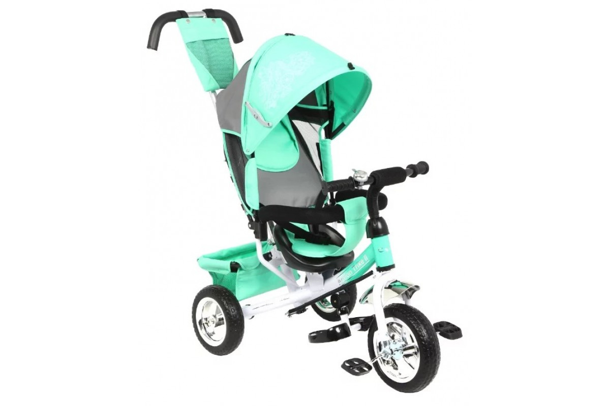 Capella Action Trike II - детский трехколесный велосипед Mint (мятный) 2019
