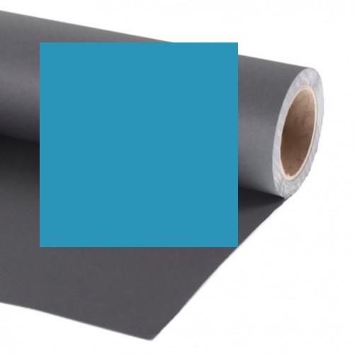 Фон бумажный Raylab 003 Light Blue Голубой 2.72x11 м Уценка 0592