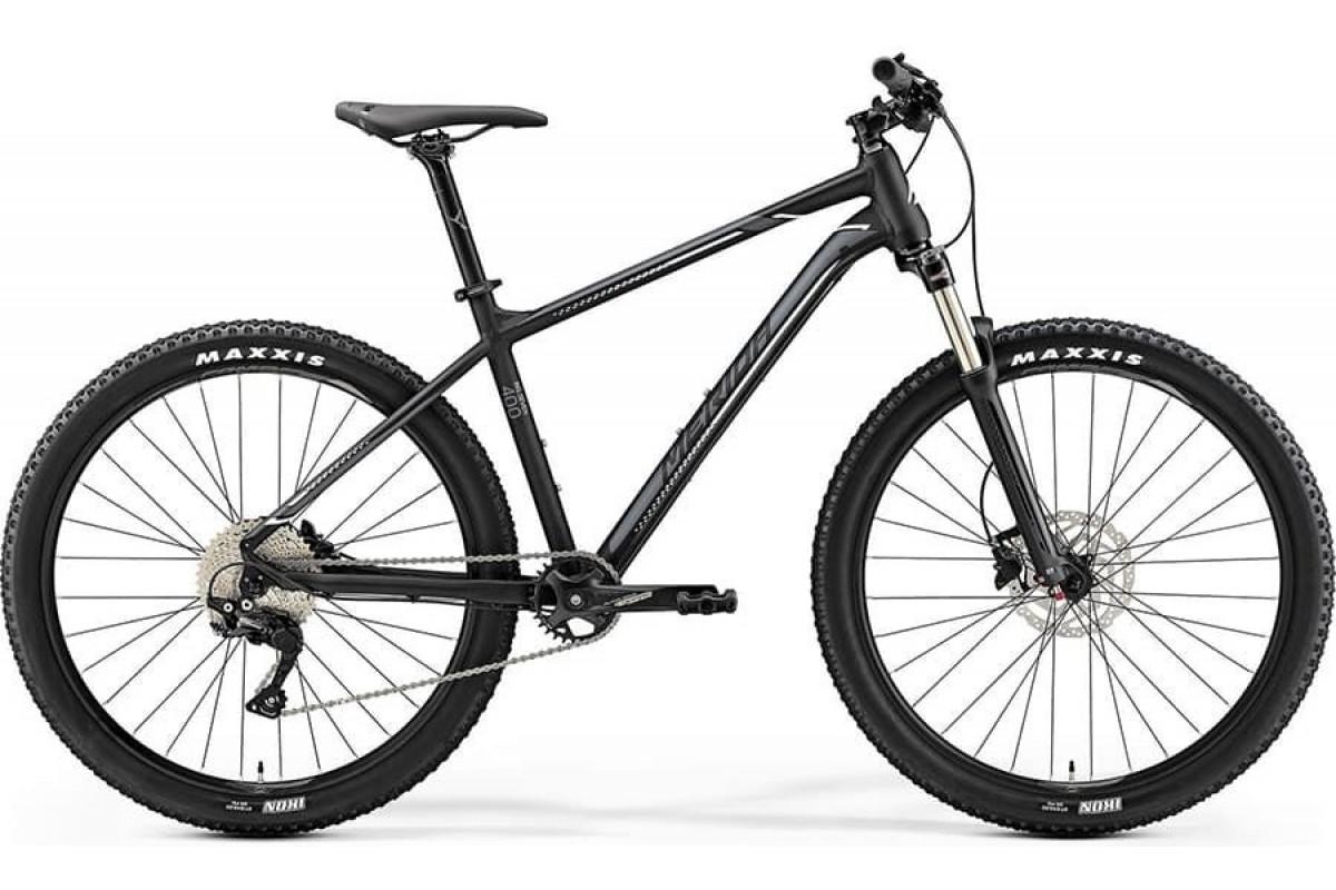 "Велосипед Merida Big Seven 400 MattBlack/Silver (White) 2019 M(17"")(90563)"