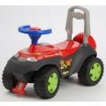 Tolocar Каталка детская с отделением для игрушек (красный)