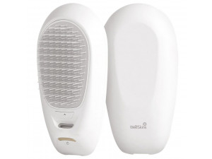 Расческа Xiaomi Wellskins Portable Negative Ion Hair Care Comb белая
