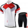 Мужская майка и шорты для велоспорта Lixada, XL, белый