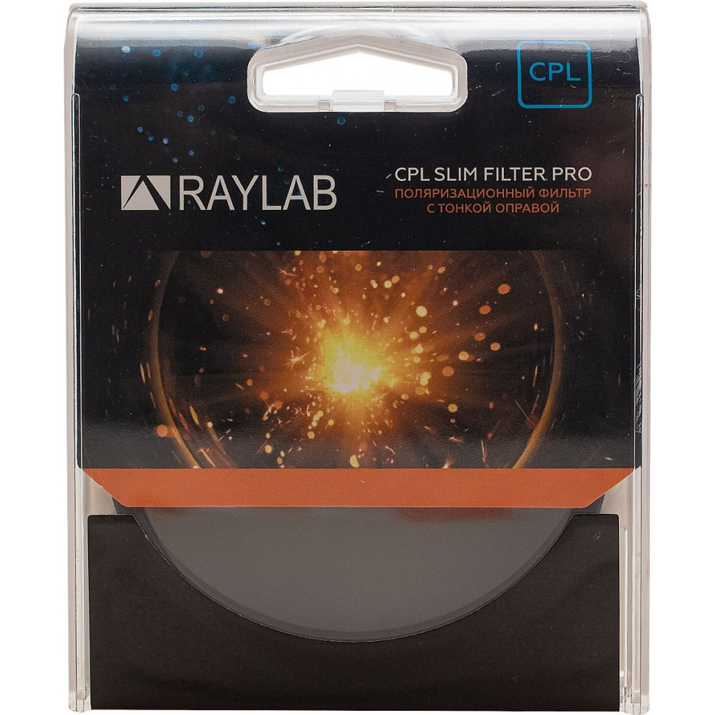 Фильтр поляризационный RayLab CPL Slim Pro 77mm