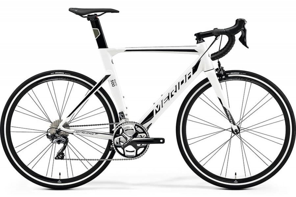 Велосипед Merida REACTO 500 White/Black/Silver 2019 SM(52cm)(86916)