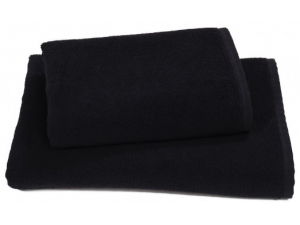 Полотенце махровое Алтын Асыр 70х140 черный