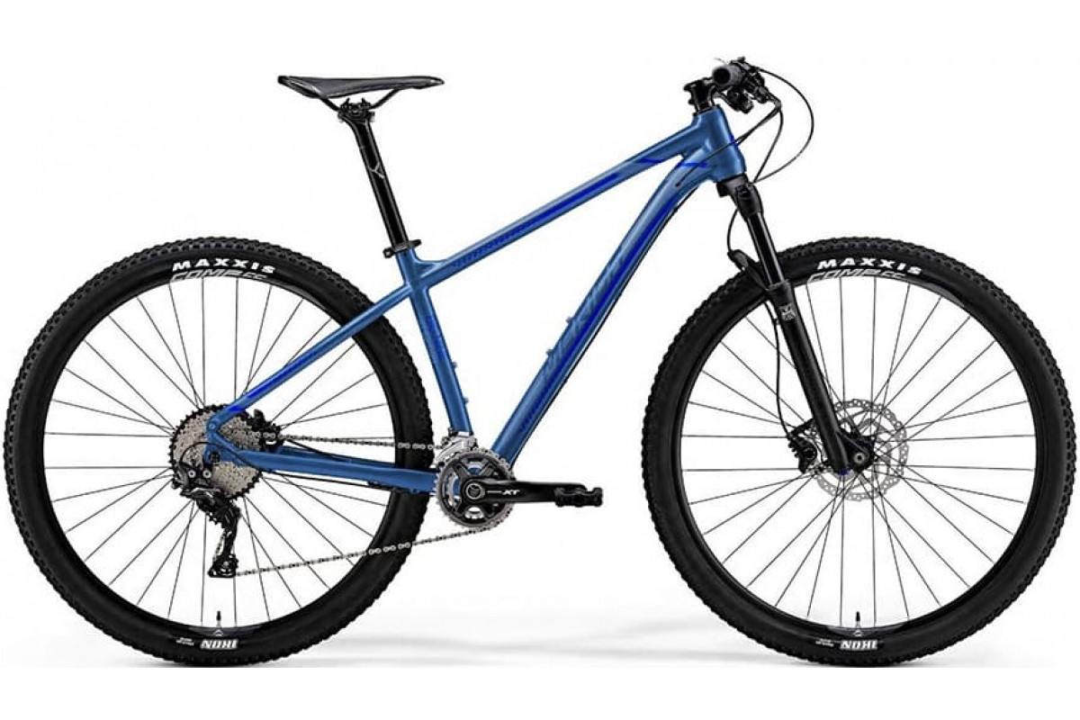 "Велосипед Merida Big Nine XT-Edition Silk Sea Blue (Silver/Dark Blue) 2019 XL(20"")(75447)"