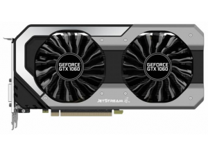 Видеокарта Palit PCI-E PA-GTX1060 Jetstream 3G nVidia GeForce GTX 1060 3072Mb 192bit GDDR5 1506/8000 DVIx1/HDMIx1/DPx3/HDCP Ret