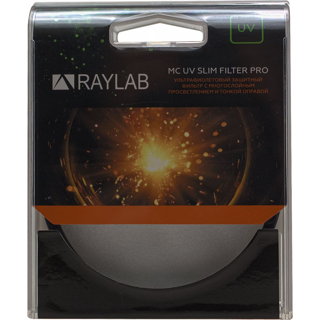 Фильтр защитный ультрафиолетовый RayLab UV MC Slim Pro 82mm