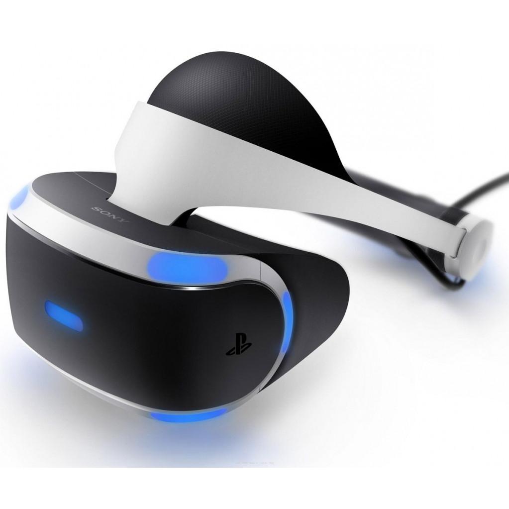 Шлем виртуальной реальности Sony Playstation VR Megapack (камера, 5 игр)