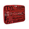 "Чехол для ноутбука 13.3"" G-Cube GNCR-713R, красный, серия «Chat Room»"