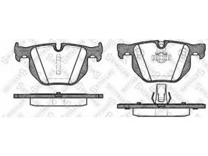 Колодки тормозные задние VK TECHNOLOGY VT 32177 для BMW E90/E61/E60 2.0-3.0