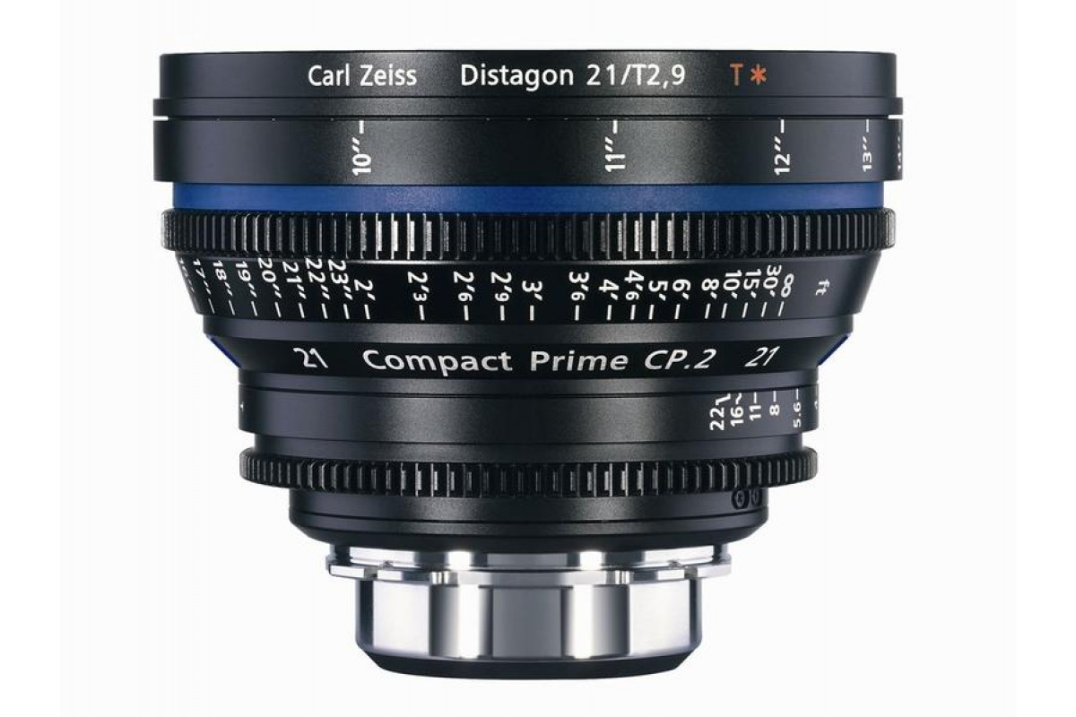 Carl Zeiss CP.2  2.9/21 T* - metric EF