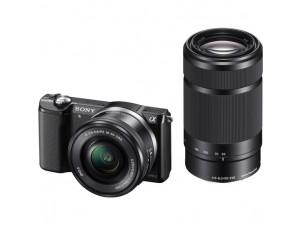 Фотоаппарат Sony Alpha A5000 Kit 16-50 f/3.5-5.6, 55-210 f/4.5-6.3 E