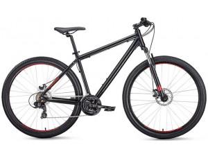 """Велосипед 29"""" Forward Apache 29 2.0 Disc Черный Матовый 18-19 г 17'"""