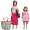 Куклы Lundby мама и дочка