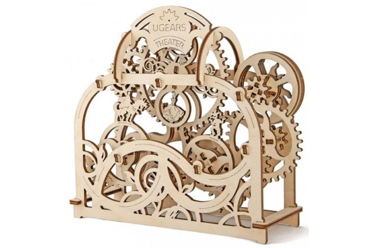 Ugears Театр - механический деревянный конструктор