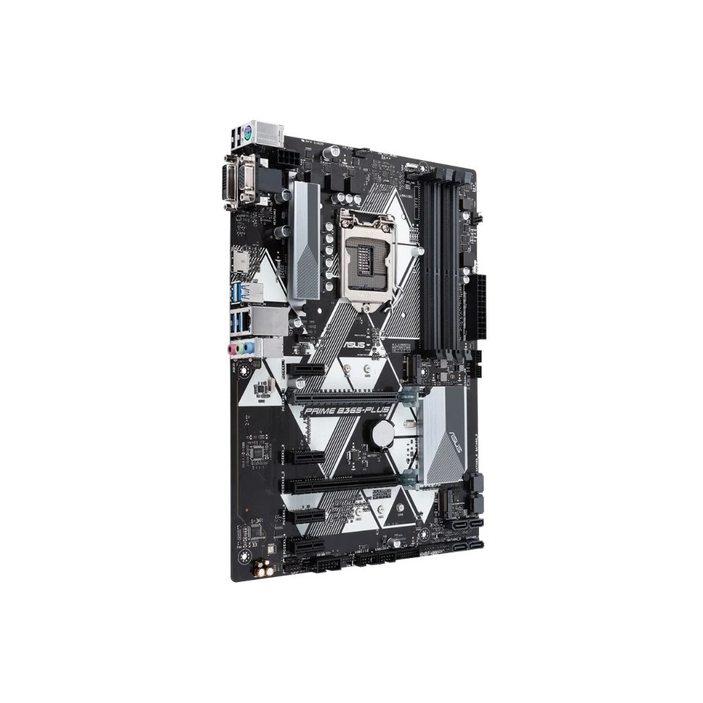 Материнская плата Asus PRIME B365-PLUS Soc-1151v2 Intel B365 4xDDR4 ATX AC`97 8ch(7.1) GbLAN+VGA+DVI+HDMI