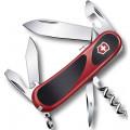 Нож Victorinox EvoGrip S101, 85 мм, 12 функций, красный