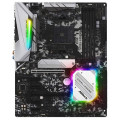 Материнская плата Asrock B450 STEEL LEGEND Soc-AM4 AMD B450 4xDDR4 ATX AC`97 8ch(7.1) GbLAN RAID+HDMI+DP