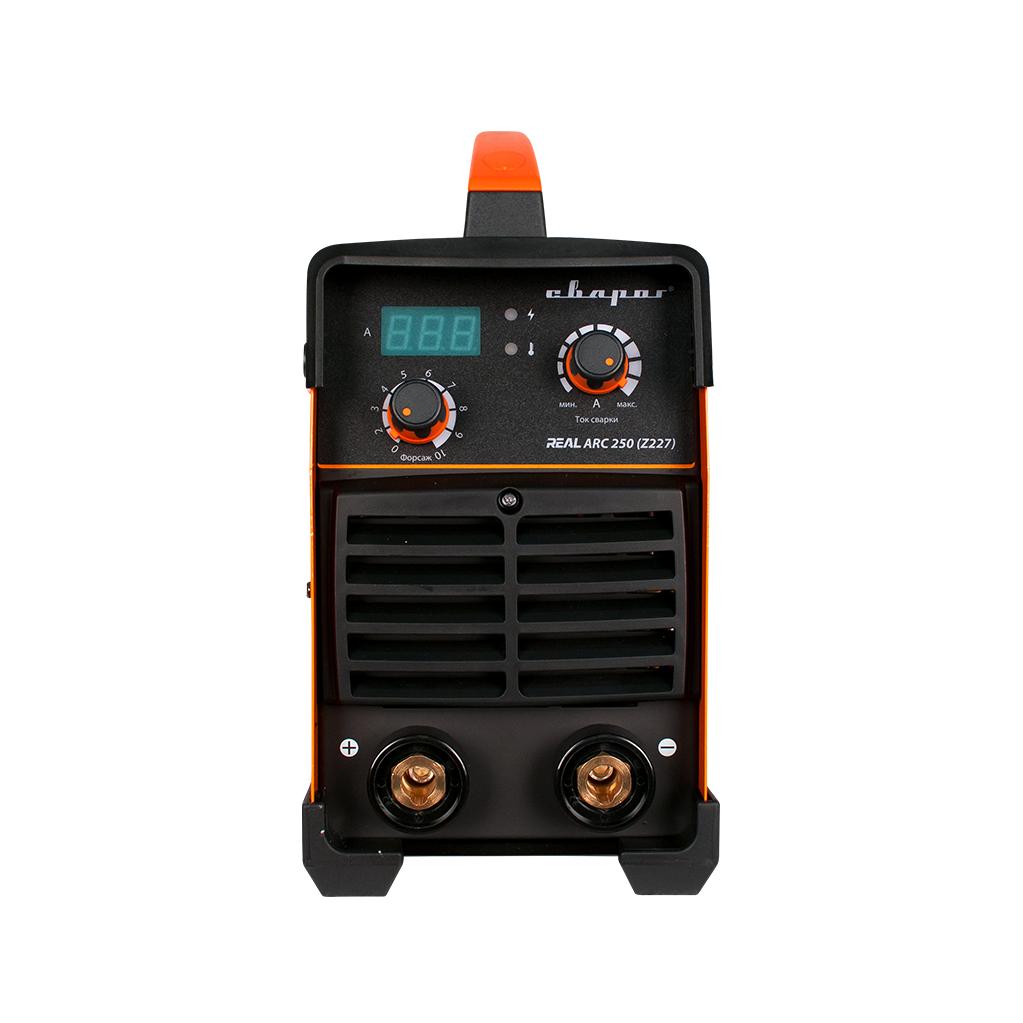 Инвертор сварочный Сварог ARC 250 REAL (Z227)  20-250А, ММА, 11.3 кВА, 380 В, 1.5-5 мм