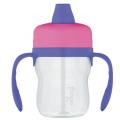 Поильник с ручкамиThermos Foogo Phases №1 BP500, пластмассовый розовый (0.23 литра)