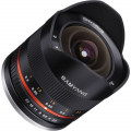 Объектив Samyang 8mm f/2.8 Fisheye APS-C Fuji X черный