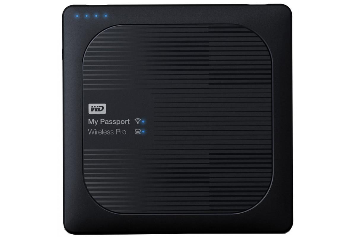 "Внешний жесткий диск WD My Passport Wireless Pro WDBP2P0020BBK-RESN 2TB 2,5"" 5400RPM USB 3.0/WiFi External"