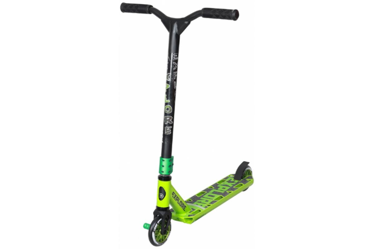 Explore Leidart - самокат спортивный green