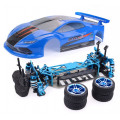 Автомобиль гоночный ZD TC-10, 4WD набор запчастей без электроники, синий