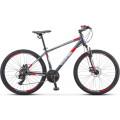 Велосипед Stels Navigator 590 MD K010 Серый/Красный (LU094325)