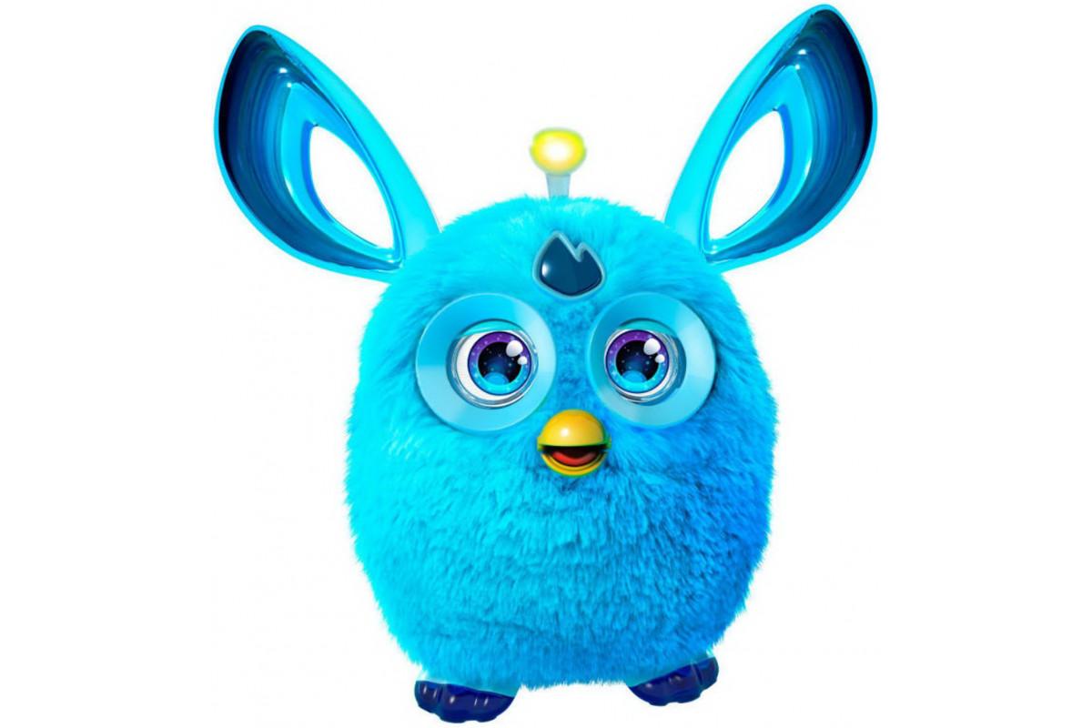 Furby Connect - интерактивная игрушка, голубой B7150