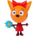 Пластиковая игрушка 1TOY Три кота Карамелька 5,7см, подвижные ножки и ручки,блистер
