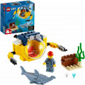 Конструктор LEGO City Oceans Океан: мини-подлодка