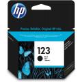 Картридж струйный HP 123 F6V17AE черный (120стр.) для HP DJ 2130