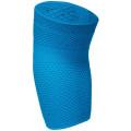 Налокотник эластичный трикотажный с силиконом HABIC, голубой интенсив, размер 6