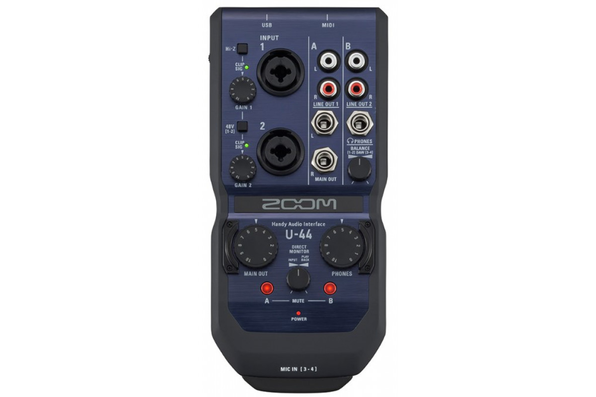 Аудио интерфейс Zoom U-44
