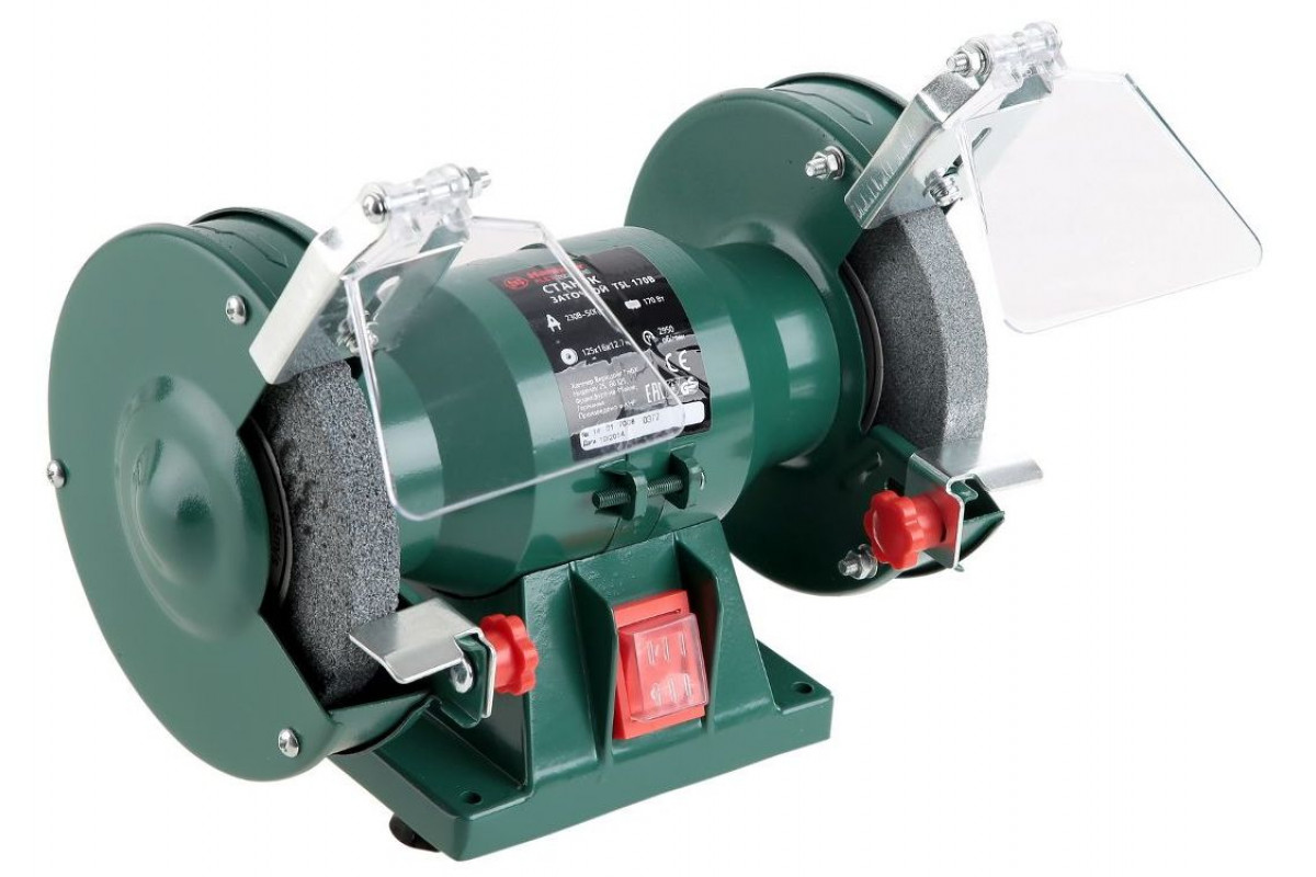 Точило Hammer Flex TSL170B  170Вт 2950об/мин круг 125x16x12.7мм (с кругами)