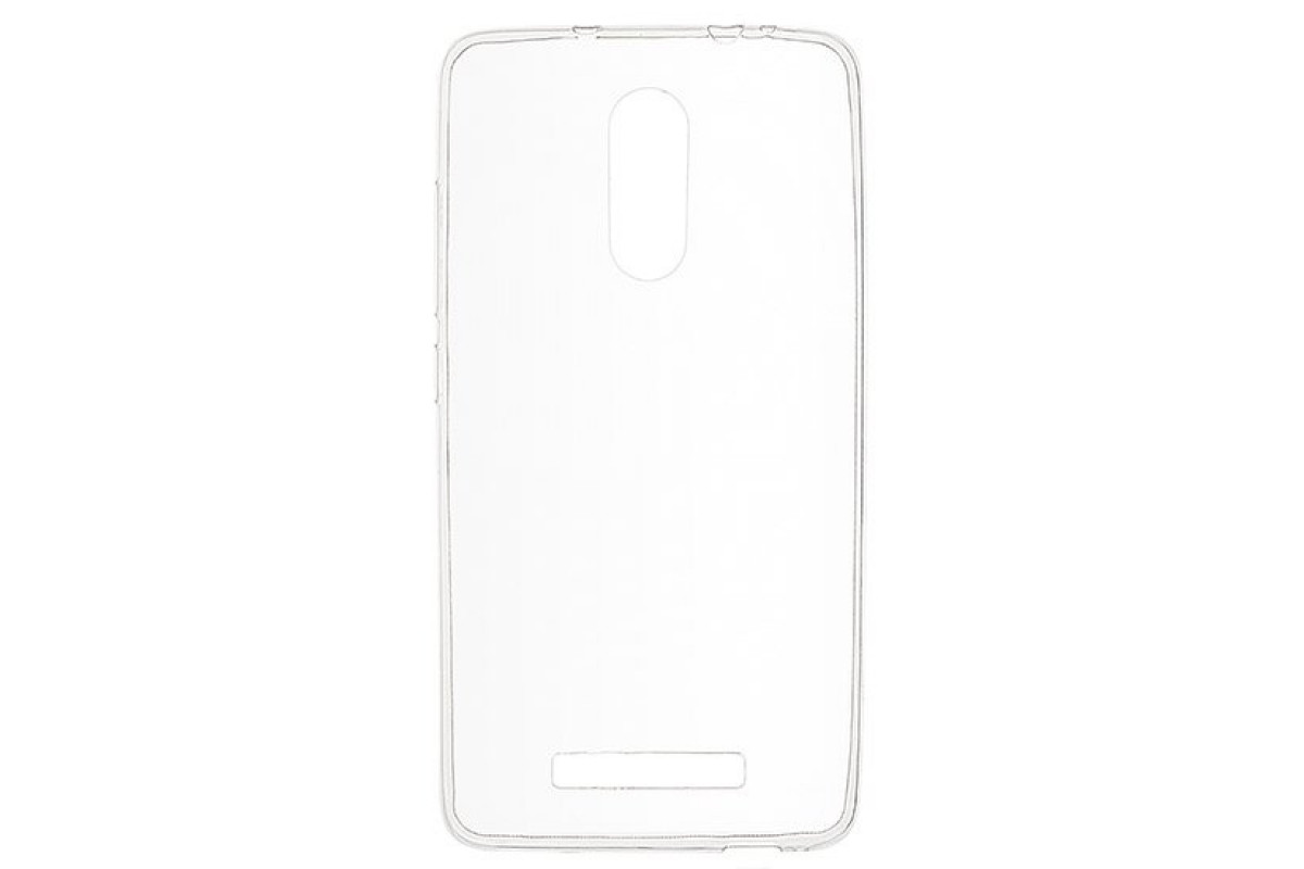 Чехол для смартфона Xiaomi Redmi Note 3/Note 3 PRO Silicone (прозрачный), Dismac