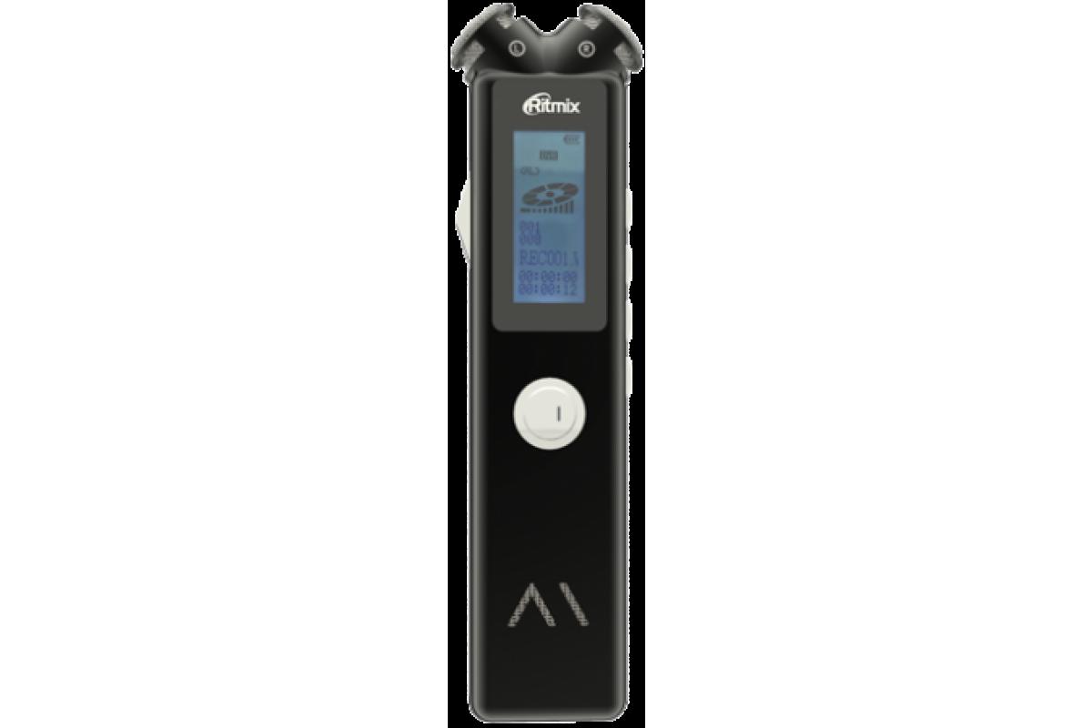 Цифровой диктофон Ritmix RR-145 8GB черный