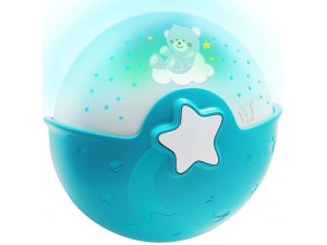 Infantino Ночник-проектор для малышей, голубой