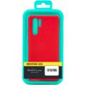 Чехол-накладка для Xiaomi Poco F2 Pro красный, Microfiber Case, Borasco