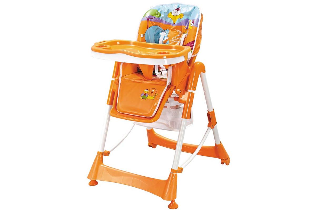 Pituso Bonito - стульчик для кормления Сафари оранжевый